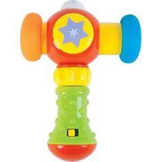 Развивающая игрушка Жирафики Сияющий молоточек 15 см