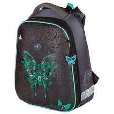 Рюкзак школьный Hummingbird черный