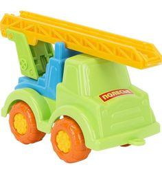 Машинка Полесье Пожарный Ромка зеленый 17 см