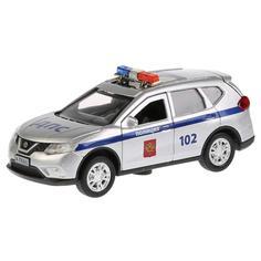 Игрушечная машинка Технопарк Nissan X-Trail полиция 12 см