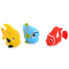Игрушка для ванной Играем Вместе Рыбки (3 шт), 8x12x15