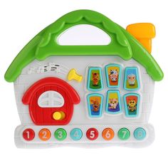 Музыкальная игрушка Умка Обучающий домик, 27 х 23 см Umka