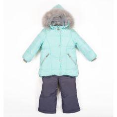 Комплект куртка/полукомбинезон Batik Лида, цвет: зеленый БАТИК