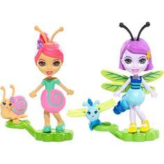 Кукла Enchantimals Друзья букашки Саксон и Дара 5 см
