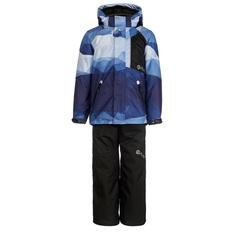 Комплект куртка/брюки AtPlay, цвет: синий