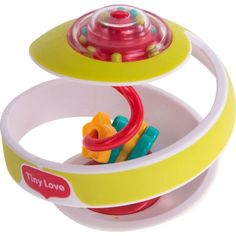 Развивающая игрушка Tiny Love Чудо-шар, цвет: зеленый 15 см
