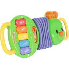 Развивающая игрушка Zhorya Музыкальная гусеница