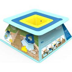Формочки Quut для пирамид 22.5 x 22.5 x 9 см