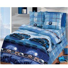 Комплект постельного белья Артпостель Драйв, цвет: синий 4 предмета 4 предмета
