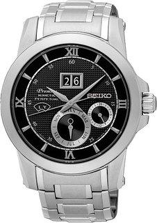 Японские мужские часы в коллекции Premier Мужские часы Seiko SNP135P1