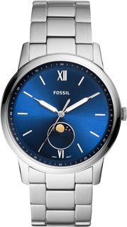 Мужские часы в коллекции The Minimalist Moonphase Мужские часы Fossil FS5618