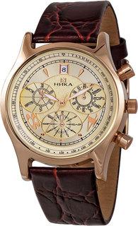 Золотые мужские часы в коллекции Celebrity Мужские часы Ника 1024.0.1.42E Nika