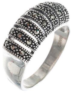Серебряные кольца Кольца Марказит HR1557-mr