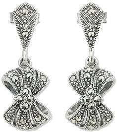 Серебряные серьги Серьги Марказит HE1138-mr