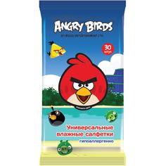 Влажные салфетки Angry Birds Универсальные 30 шт