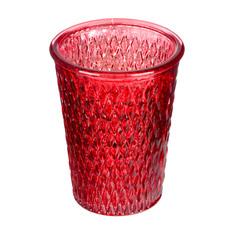 Подсвечник декоративная Decostar perina 10х12.5см красный