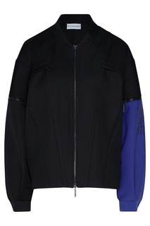 Куртка-бомбер с яркой вставкой Chapurin