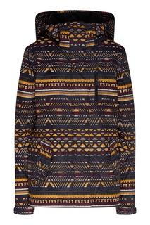 Сноубордическая куртка с геометрическим принтом Jetty Roxy