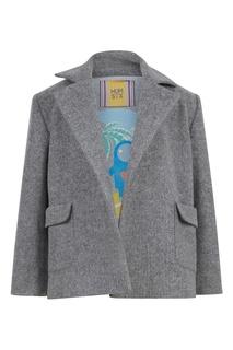Укороченное пальто в классическом стиле #Mumofsix