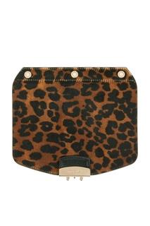 Клапан леопардовой расцветки для сумки Metropolis Furla