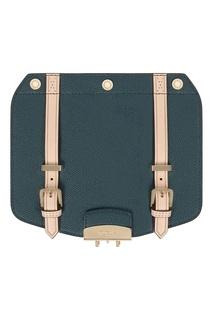 Клапан темно-зеленого цвета для сумки Metropolis Furla