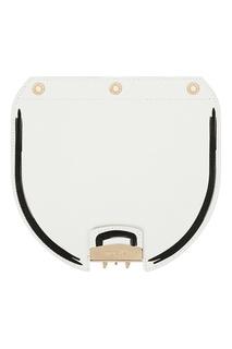 Клапан для сумки Metropolis белого цвета Furla