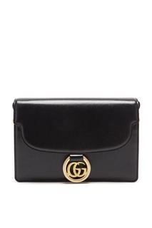 Кожаная сумка небольшого размера на плечо Gucci