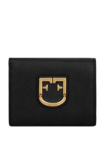 Черный кошелек Belvedere из кожи Furla