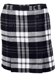 Короткие юбки Юбка-карандаш в клетку Bonprix