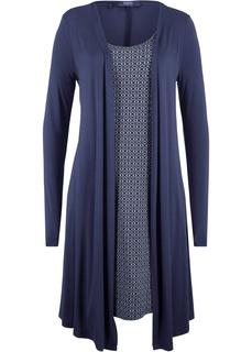 Платья с длинным рукавом Платье 2 в 1 с длинным рукавом Bonprix