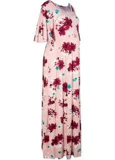 Платья Макси-платье для беременных, трикотаж Bonprix