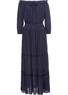 Длинные платья Платье макси с вырезом кармен Bonprix
