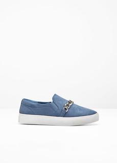 Обувь с эластичным голенищем Слиперы Bonprix