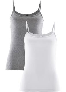 Базовый гардероб Топ (2 штуки в упаковке) Bonprix
