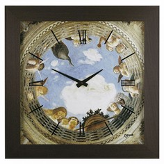 Настенные часы (73х73 см) Lowell