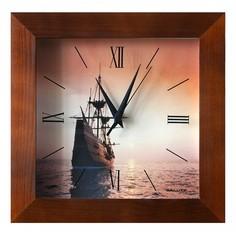 Настенные часы (31х31 см) Салют