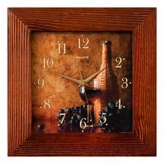 Настенные часы (35х35 см) Салют