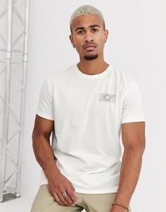 Белая футболка Billabong