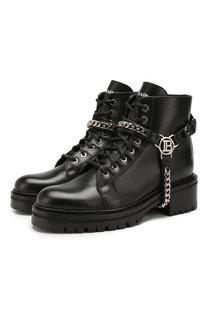 Кожаные ботинки Muse Balmain