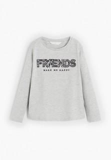 Лонгслив Mango Kids - FRIENDLY