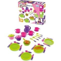 Игровой набор Mochtoys посуды 42 предмета