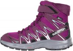 Сапоги утепленные для девочек Salomon XA PRO 3D Winter TS CSWP J, размер 33