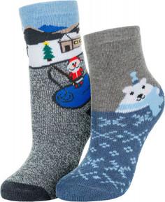 Носки для мальчиков Columbia, 2 пары, размер 31-34