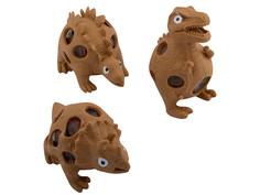 Игрушка антистресс Эврика Динозавры набор 3шт Brown 99425 Evrika