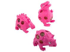 Игрушка антистресс Эврика Динозавры набор 3шт Pink 99423 Evrika