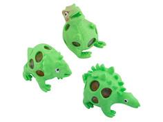Игрушка антистресс Эврика Динозавры набор 3шт Green 99424 Evrika