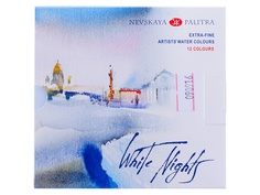 Акварельные краски Невская Палитра Белые ночи 12 цветов 1942036