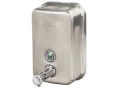 Дозатор Лайма Professional для жидкого мыла 0.5L Steel Matte 605396
