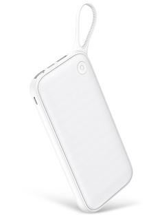 Аккумулятор Baseus Powerful Portable Power Bank 20000mAh White PPKC-A02