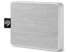Жесткий диск Seagate One Touch SSD 500Gb STJE500402 White